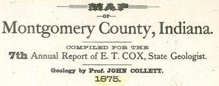 Map of Montgomery County: 1875
